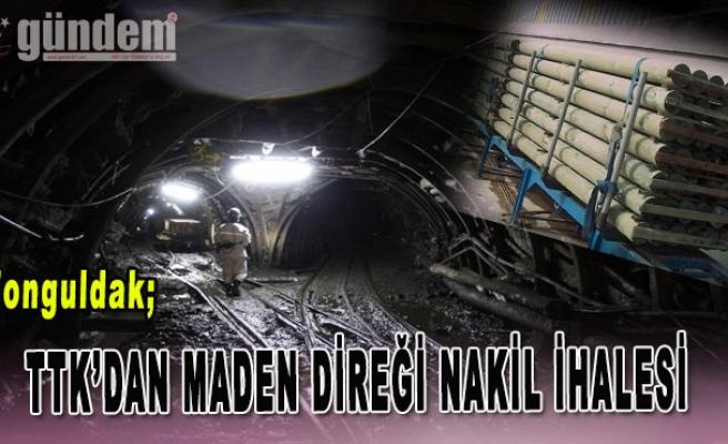 Taşkömürü Kurumun'dan Maden Direği Nakil İhalesi