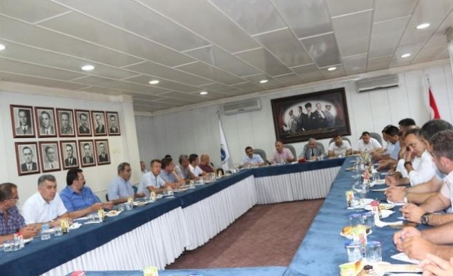 GMİS başkanı Demirci başkanlar kurulu toplandı