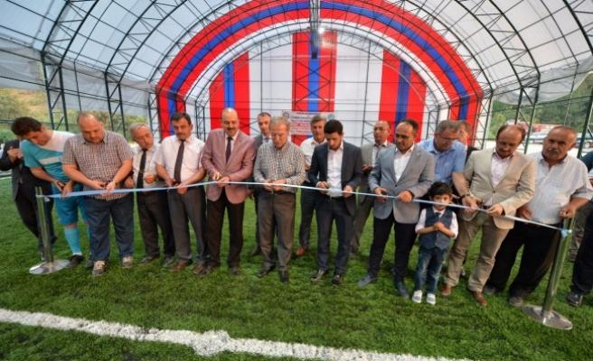 Ovacık ilçesinde Şehit Polis Öztürk Adına Futbol Turnuvası