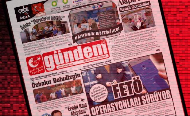 05 Ağustos 2017 Gündem Gazetesi