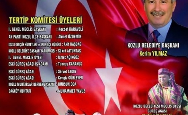 Dağköy Yağlı Güreşleri TGRT Haberde canlı yayınlanacak