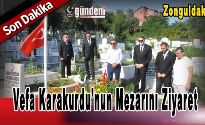 Vefa Karakurdu'nun Mezarını Ziyaret