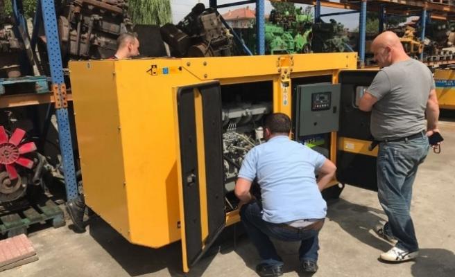 Aydınpınar köyünde çalınan 1,5 tonluk jeneratör bulundu