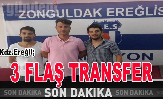 Üç Flaş Transfer