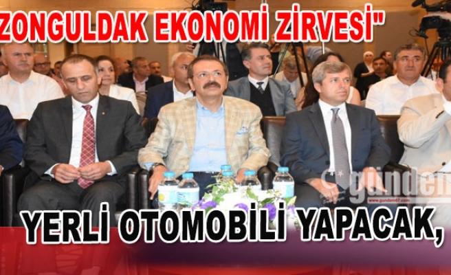 """""""Zonguldak'ta Ekonomi Zirvesi"""" toplantısı"""
