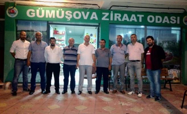 Düzce Üniversitesi'nden Gümüşova Ziraat Odası'nı ziyaret