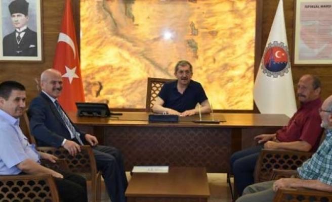 Başkan Uzun; Karabük Belediye Başkanı Vergili'ye ziyaret