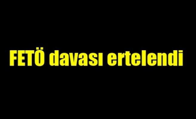 Düzce'deki FETÖ/PDY davası Ertelendi