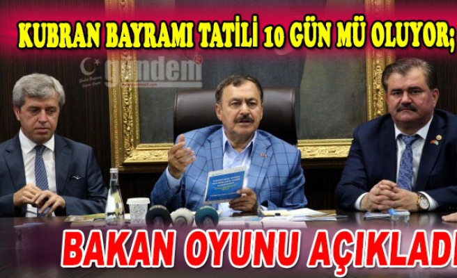 Bakan Eroğlu'na Zonguldak'ta sevgi seli...
