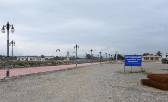 Melen Su Park çevresinde düzenlemesi için ihale açıldı