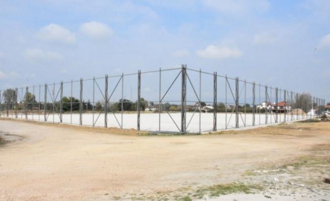 Şıralık'ta Spor kompleksi inşaat çalışmaları