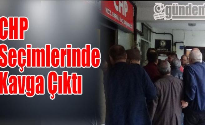CHP Seçimlerinde Kavga Çıktı