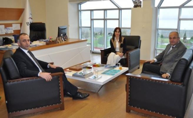 BAKKA Genel Sekreter Vekili Acar'a ziyaret