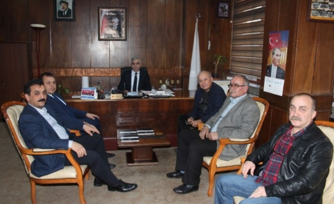 Ressam Ertel'den, GMİS'e ziyaret