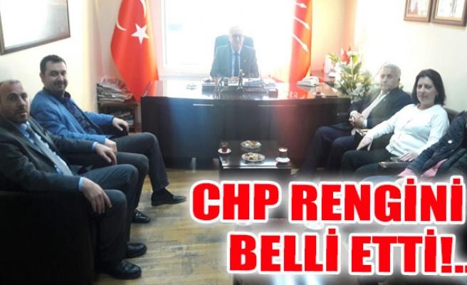 CHP Rengini Belli Etti!..