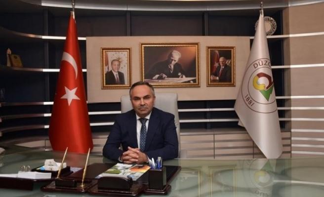Başkan Ay şeb-i arus'un 744'üncü yılını kutladı