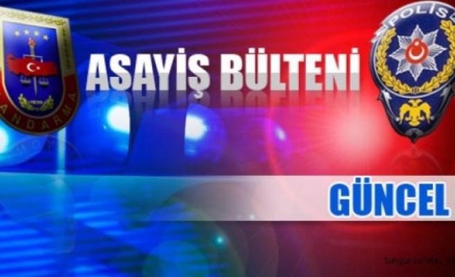 Çeşitli Suçlardan Aranan 6 Şüpheli tutuklandı...