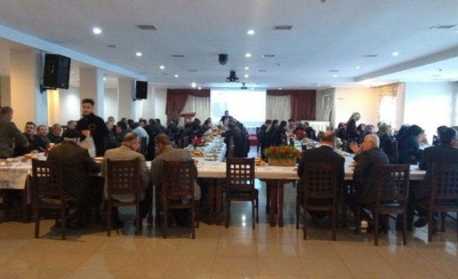 Başkan Yemenici, din görevlileri ile bir araya geldi