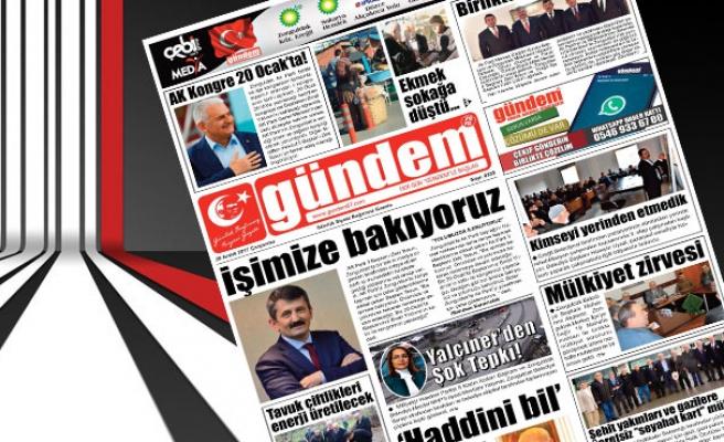 20 Aralık 2017 Gündem Gazetesi