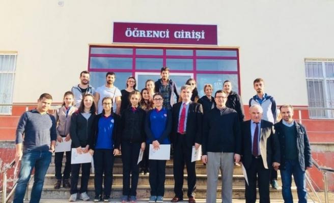 Barbaros Anadolu Lisesi'nden ziyaret...