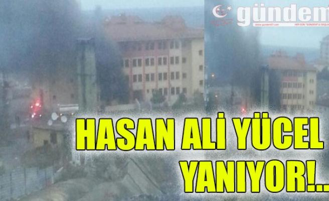 Hasan Ali Yücel Yanıyor!..