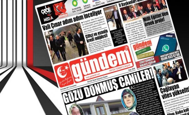 23 Aralık 2017 Gündem Gazetesi