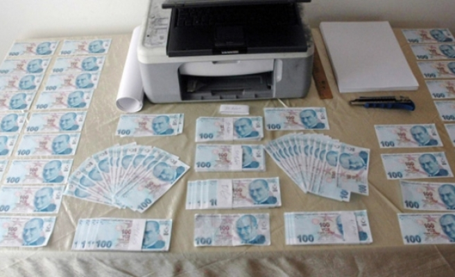 Sahte parayla yakalanan 3 şahıs tutuklandı