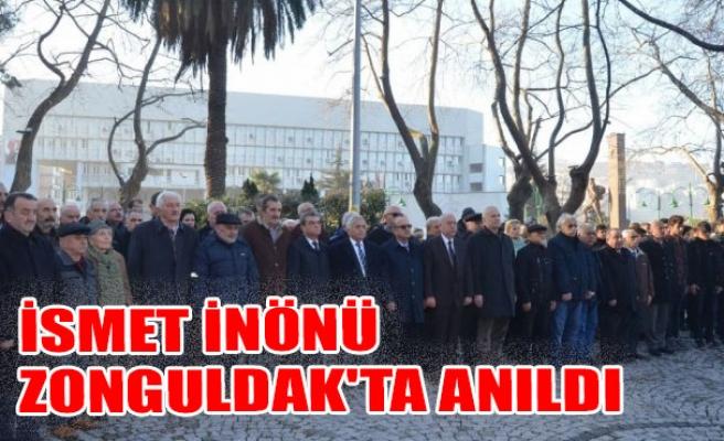 İsmet İnönü Zonguldak'ta Törenle anıldı