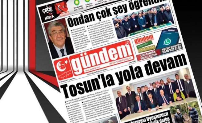 27 Aralık 2017 Gündem Gazetesi