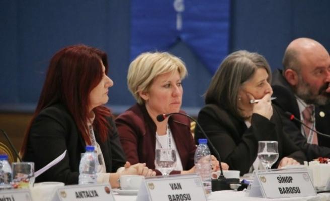 Baro Başkanı Azade Ay, Başkanları olağan toplantısına katıldı