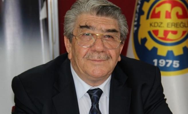 TSO'nun onursal başkanı Tetiker ilan edildi