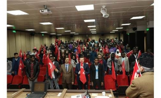 """Mehmet Akif Ersoy ve Çanakkale Ruhu"" konferansı..."