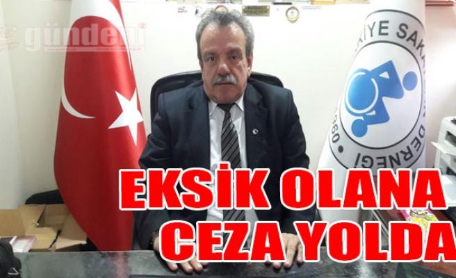 Eksik Olana Ceza Yolda