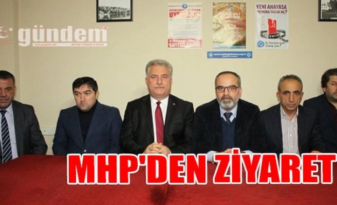 MHP'den Ziyaret...