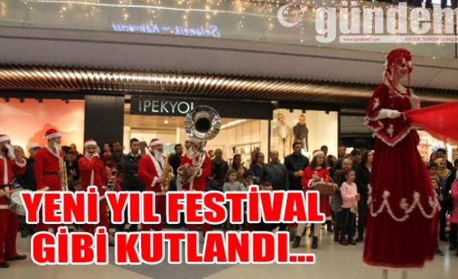 Yeni Yıl Festival Gibi Kutlandı...