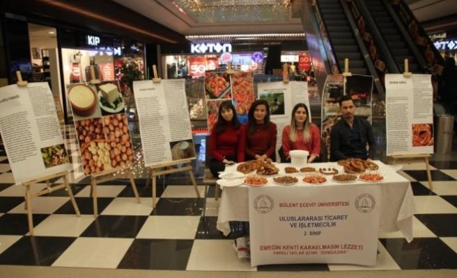 Öğrenciler, Zonguldak'ın yöresel lezzetlerini tanıttı