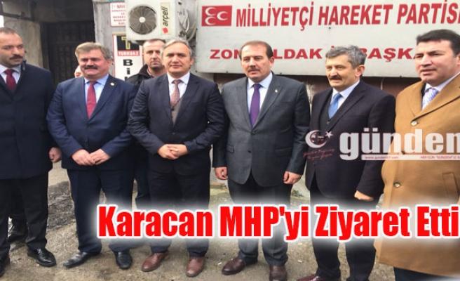 Karacan MHP'yi Ziyaret Etti