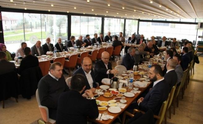 Dost Meclisi toplantısına Vali Dağlı katıldı