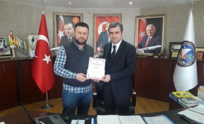 Akçakoca Belediyesi  silueti marka tescil belgesi ile tescillendi