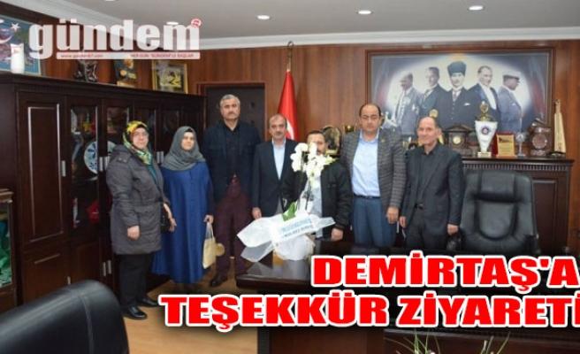 Demirtaş'a teşekkür ziyareti