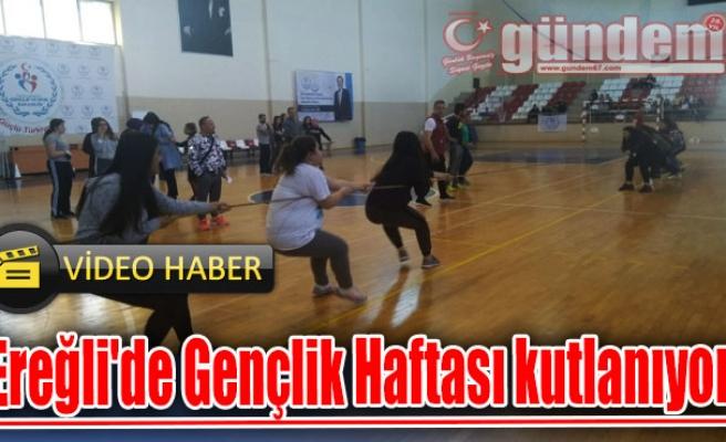 Ereğli'de Gençlik Haftası kutlanıyor