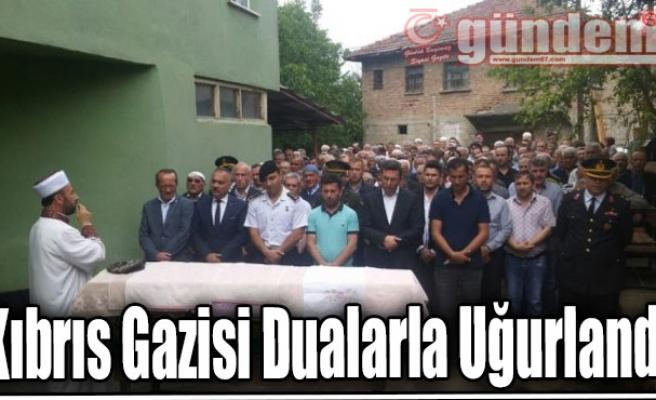 Kıbrıs Gazisi Dualarla Uğurlandı