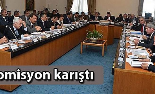 KOMİSYONDA SERT TARTIŞMALAR