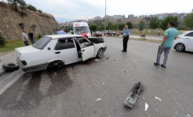 Trafik Kazalarında Biri Ağır 3 Kişi Yaralandı