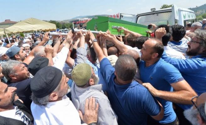 Bahattin Gazi Vakfı Kurucusu Boyraz'ın cenazesi toprağa verildi