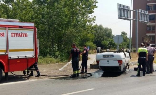 Bartın'da Trafik Kazasında 2 kişi yaralı