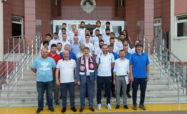Bartınspor Kulübü Başkanı Bulut'tan Akın'a ziyaret
