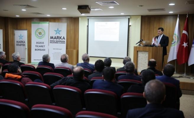 """Düzce'de """"2025'te Türkiye Fındığının Yeri"""" toplantısı"""