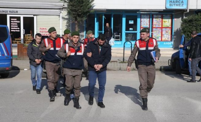 Düzce'de Gözaltına Alınan 5 Kişi Tutuklandı