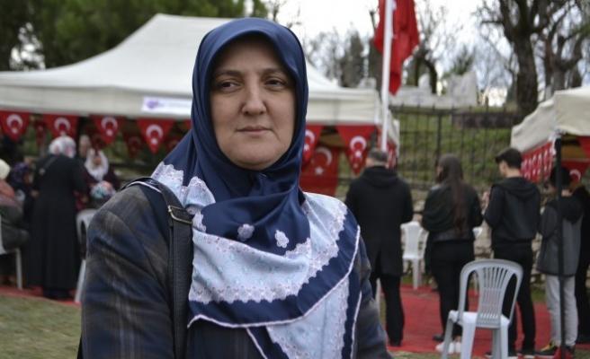 Afrin şehidi, Halisdemir adına bağışta bulunmuş...